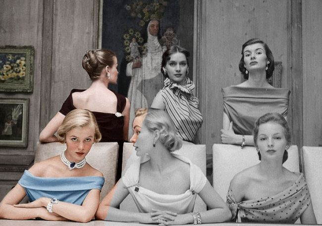 Как черно-белые фотографии превращаются в цветные (гифки)