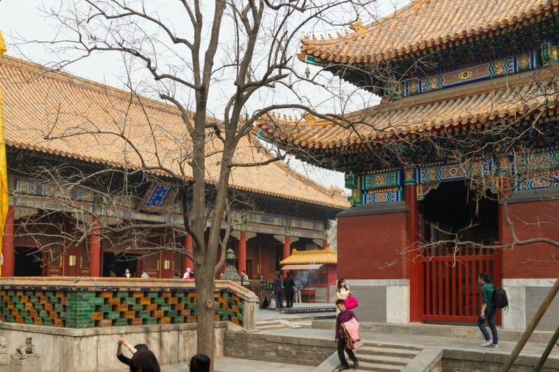 Павильон императорской стелы, монастырь Юнхэгун, Пекин