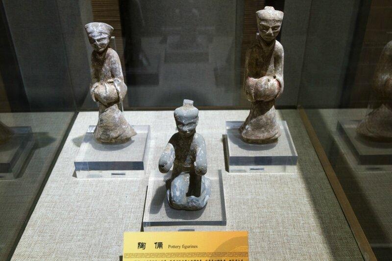 Керамические фигурки, Китай