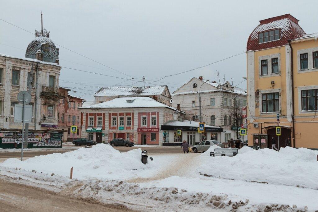 Красная площадь и Крестовая улица, Рыбинск