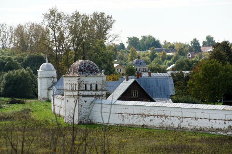 Смотровые площадки Золотого Кольца - Суздаль - площадка возле Спасо-Евфимиева монастыря