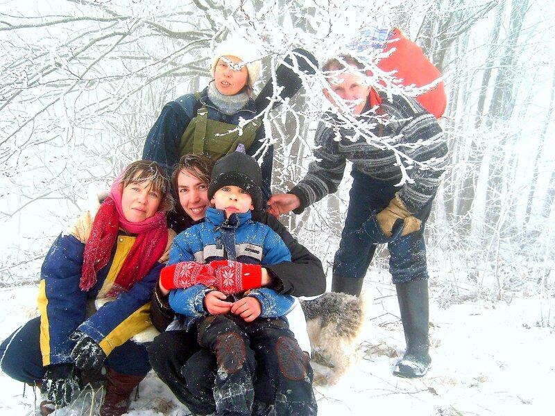 На Природе, праздник Новогодний