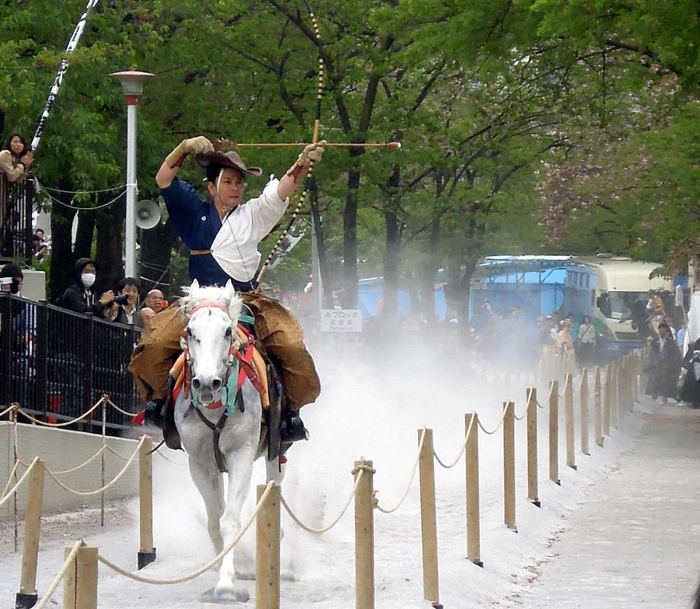 Стреляем из лука на полном скаку: Потомки японских самураев (9)