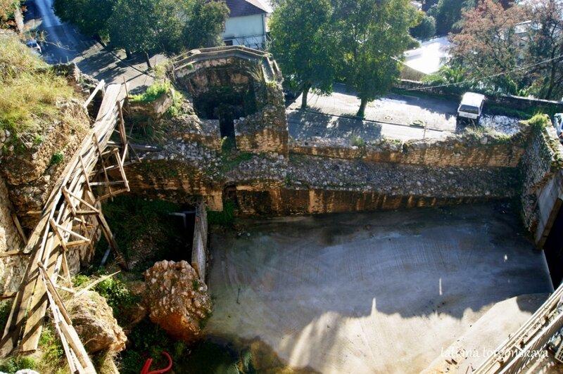 Остатки крепостных укреплений