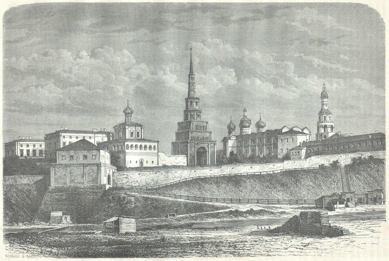 1872. Казанский Кремль
