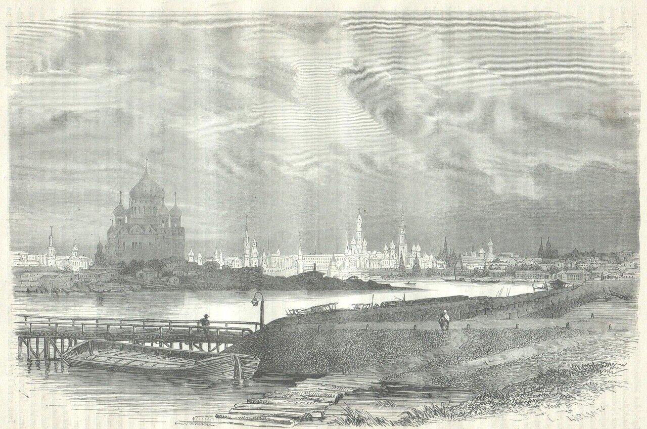 1872. Москва. Общий вид