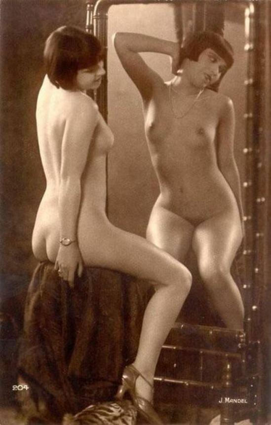 1920. Джулиан Мандель. Кики с Монпарнаса