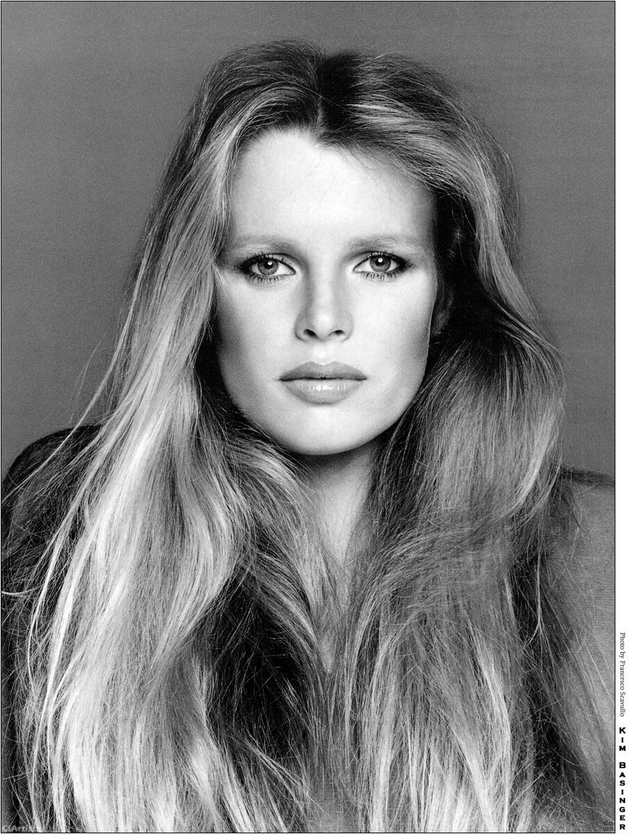Kim Basinger, model/actress, 1977From cover girl to movie star in one leap.