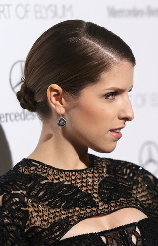 LOS ANGELES, CA - JANUARY 11: Actress Anna Kendrick attends The Art of Elysium's 7th Annual HEAVEN Gala presented by Mercedes-Benz at Skirball Cultural Center on January 11, 2014 in Los Angeles, California. (Photo by Mike Windle/Getty Images for Art of