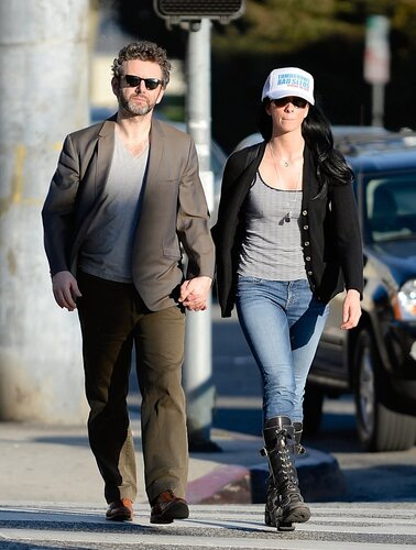 Sarah Silverman, Michael Sheen _ 022314K14_SILVERMAN_NPG_02