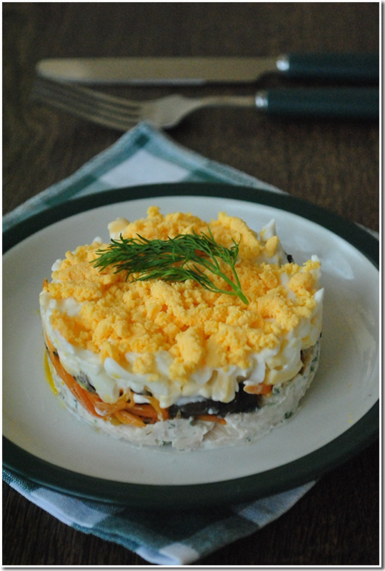 салат Зимний фото рецепт