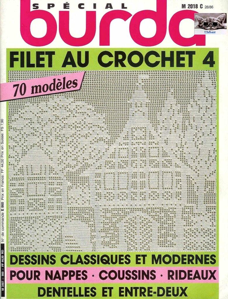 burda special e860 1983 filet au crochet 4 liveinternet. Black Bedroom Furniture Sets. Home Design Ideas