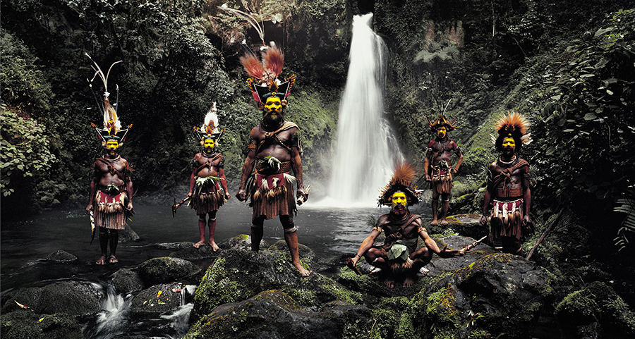Папуасы хyли
