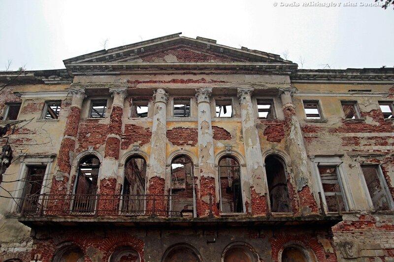 Усадьба Гребнево. Северный фасад дворца.