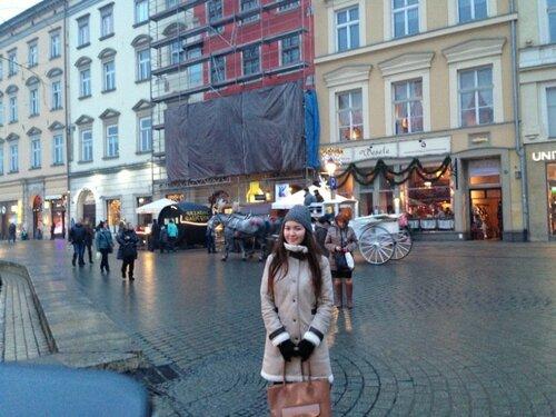 На улице Кракова