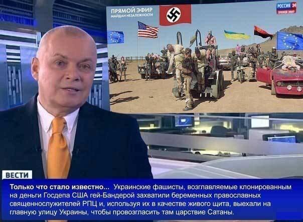 Российские новости про Украину