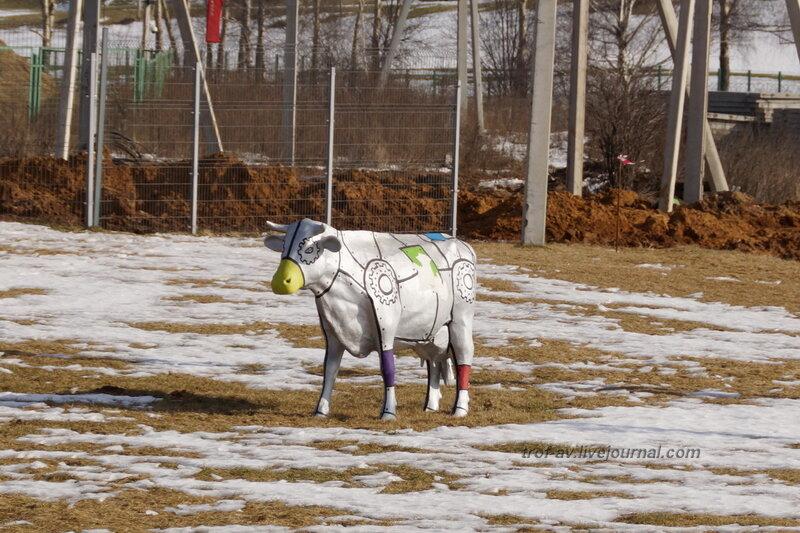 Коровы в Сколково, Конференция и выставка Skolkovo Robotics 2014