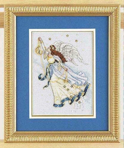 схемы вышивки ангелов схемы