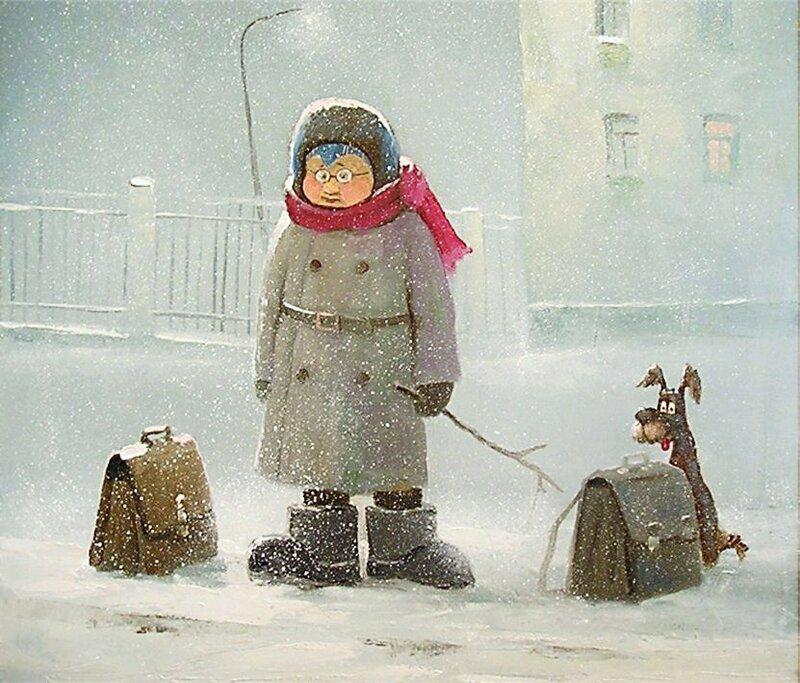 Андрей Репников. В город за конфетами.