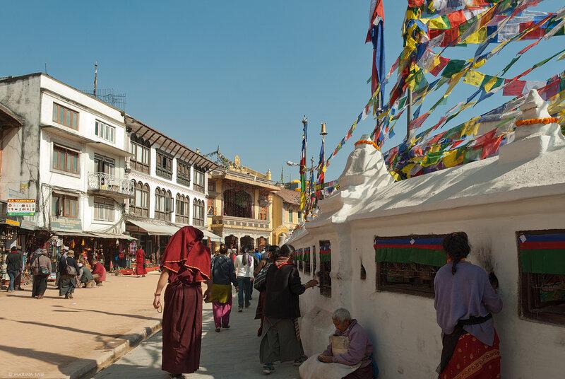 Катманду. Ступа Боднатх