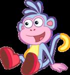 картинки анимашки обезьянки на прозрачном фоне