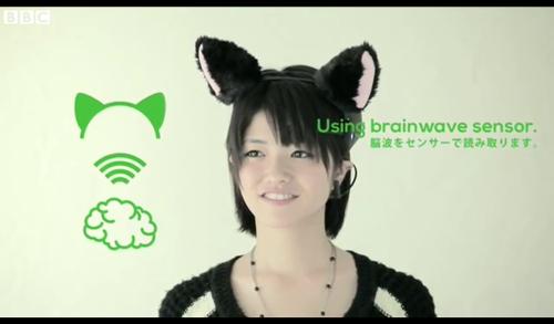 сенсорные кошачьи уши