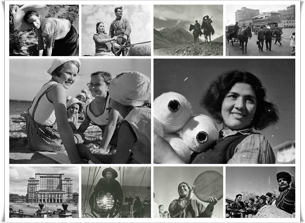 Аркадий Шайхет: Марш времени. Часть 3. 1930 - 1940-е гг. (118 фото)