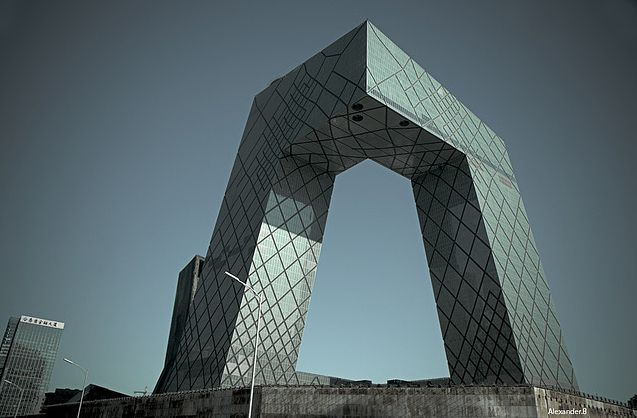 Beijing CCTV Tower (China Central Television Headquarters)