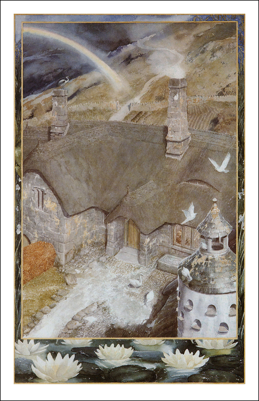 The Fellowship Of The Ring Illustrator Alan Lee Book