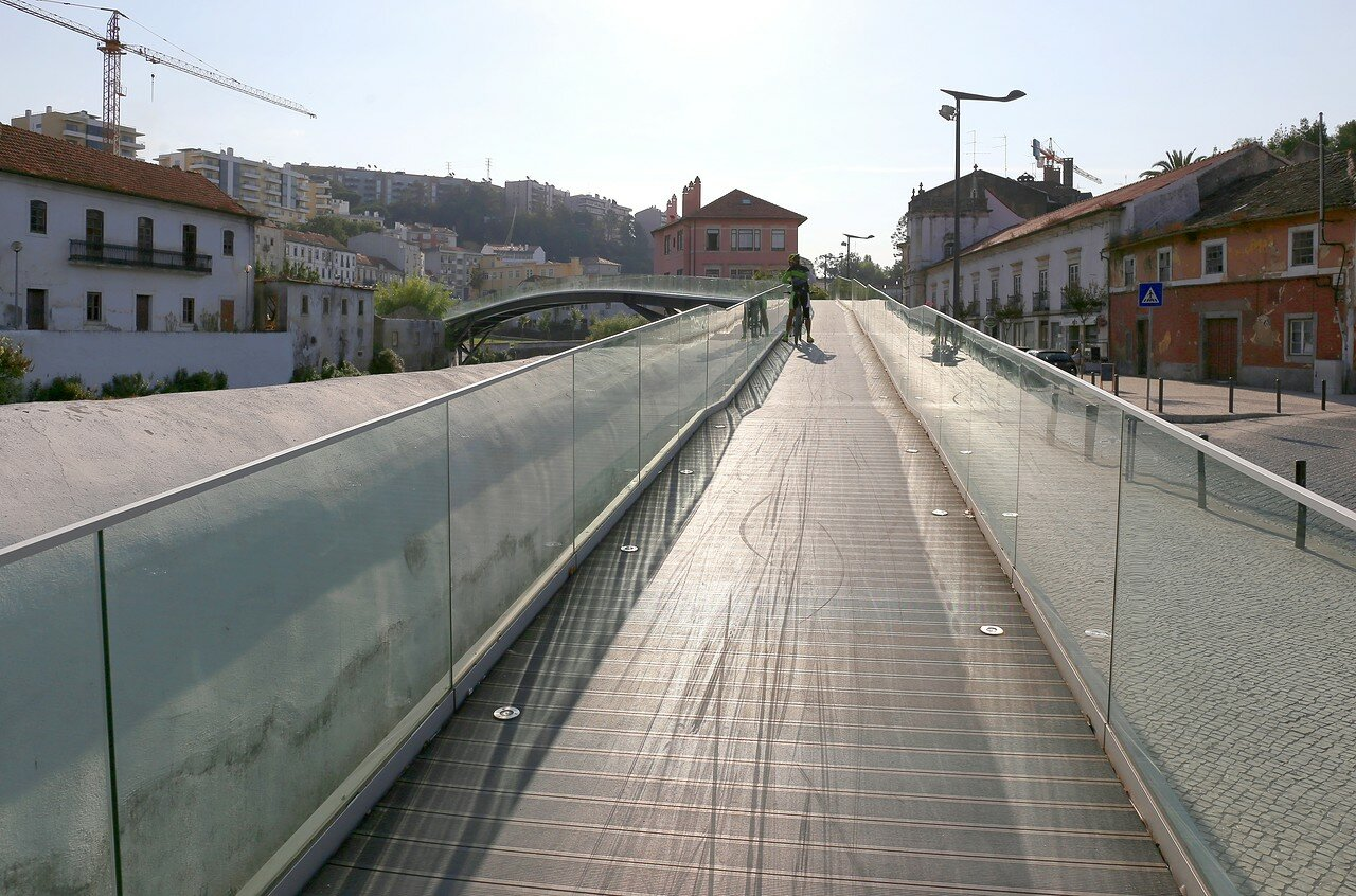 Leiria. The bridge of king Dinis (Ponte El-Rei D. Dinis)