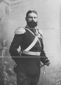Полковник Курочкин М.С. в парадной форме.