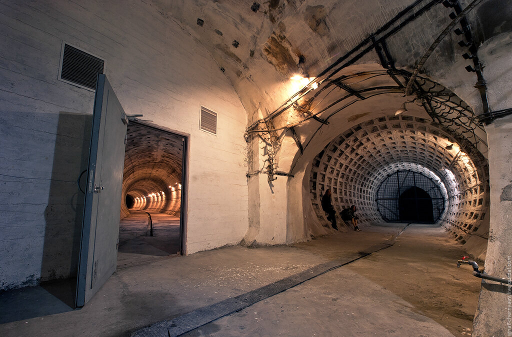 подходной тоннель метро Садовая