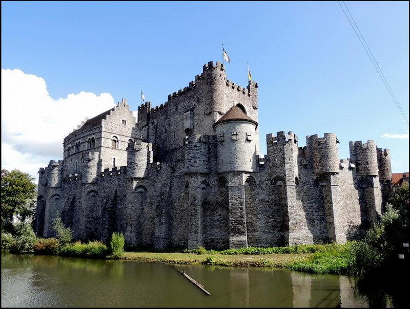 Гент. Фландрия Восточная. Бельгия