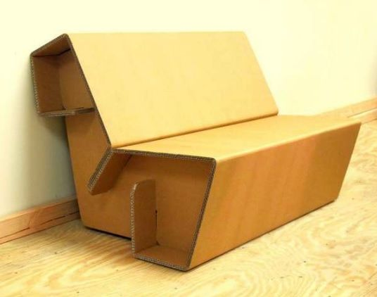 Картонная мебель