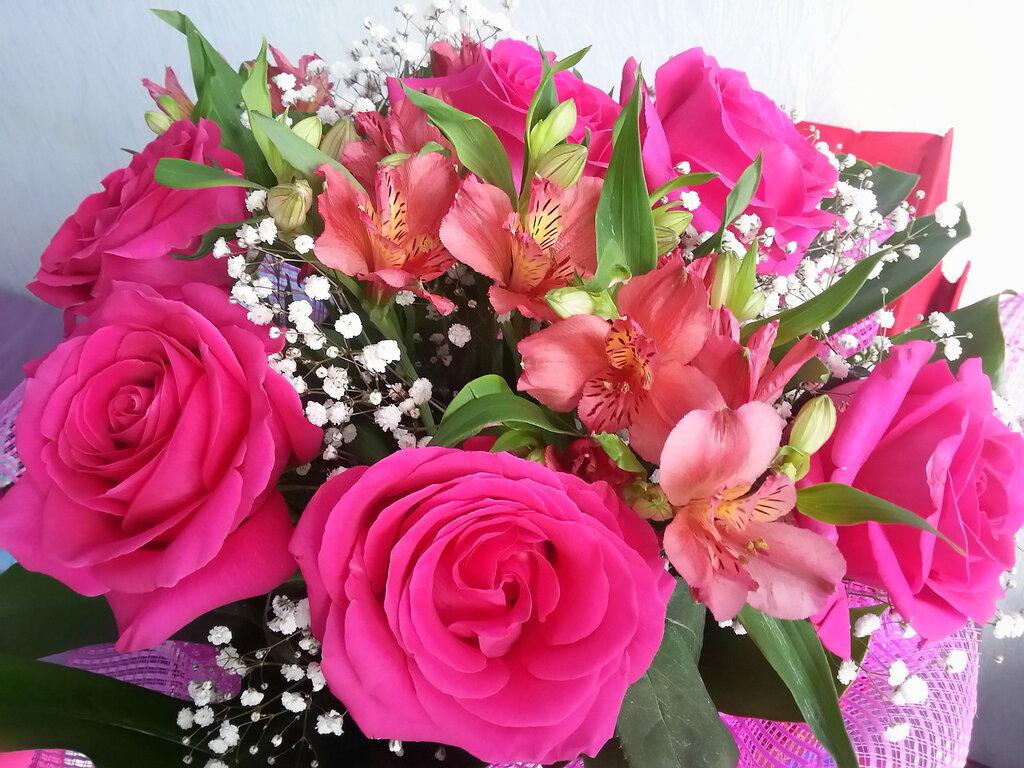 гифы букеты цветов с пожеланиями этом