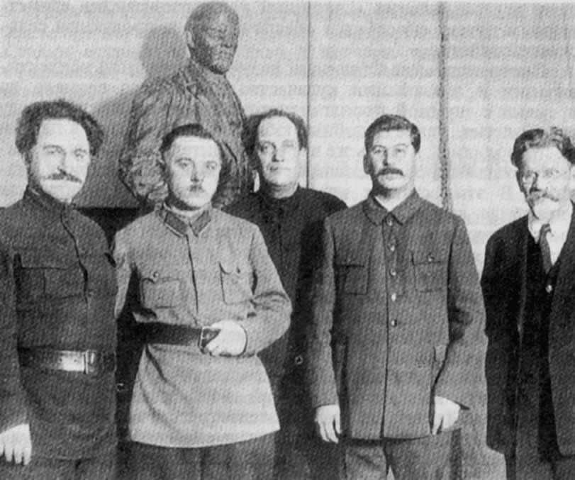 день 50-летия Сталина Орджоникидзе, Ворошилов, Куйбышев, Сталин, Калинин