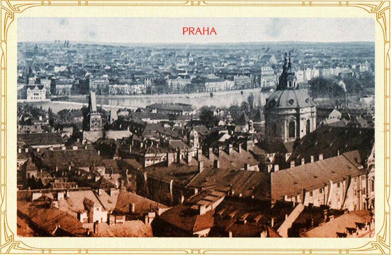 22. Крыши Малой Страны — вид с Града. 1935 год