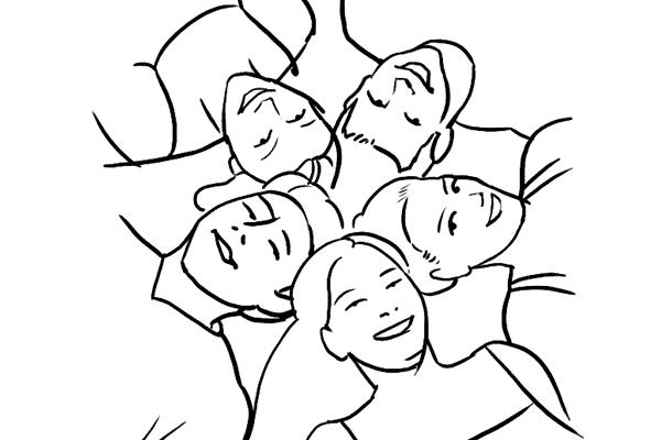 Позирование: позы для групповых портретов 7