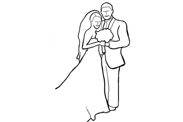 Позирование: позы для свадебной фотографии 9