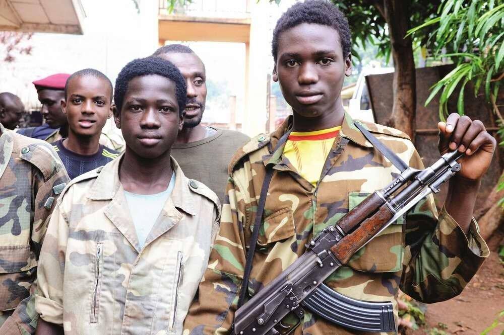 Дети солдаты - Центральноафриканская республика (1)