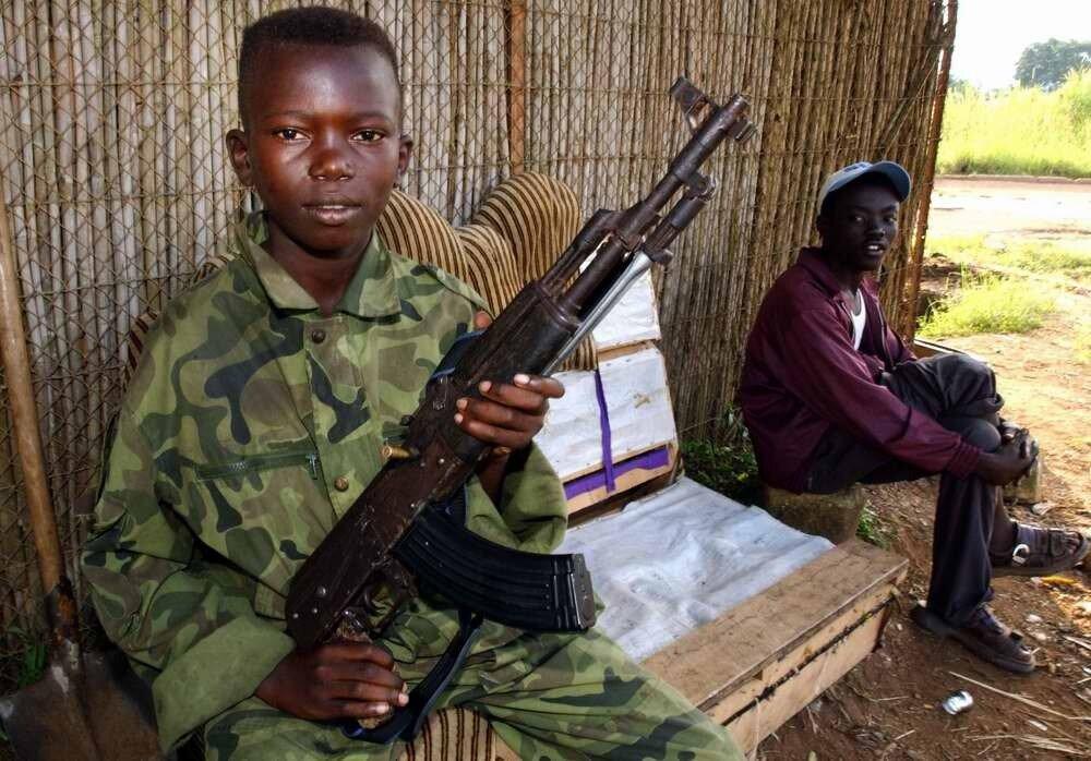 Дети солдаты - Центральноафриканская республика (2)
