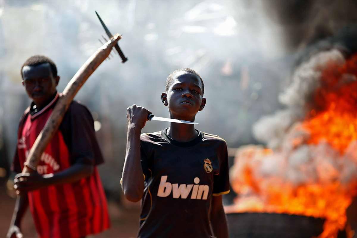 Центрально-Африканская Республика: Мирная демонстрация мусульман в столице Бамбари (1)