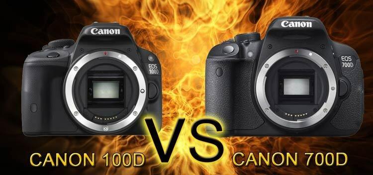Canon 100d vs canon 700d что лучше canon 100d или 700d