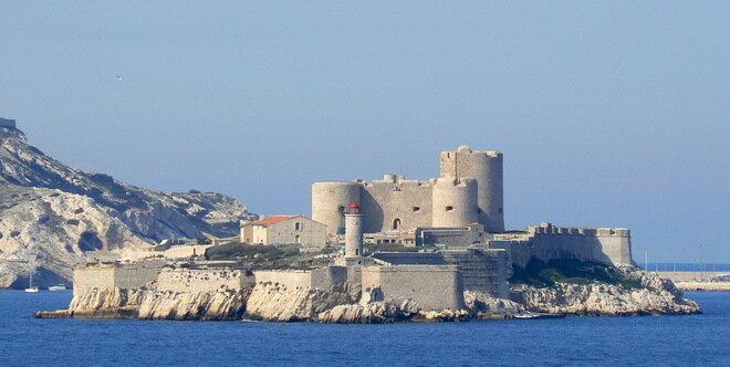 Замок Иф. Франция