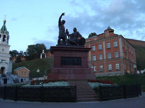 Нижний Новгород. Памятник Минину и Пожарскому