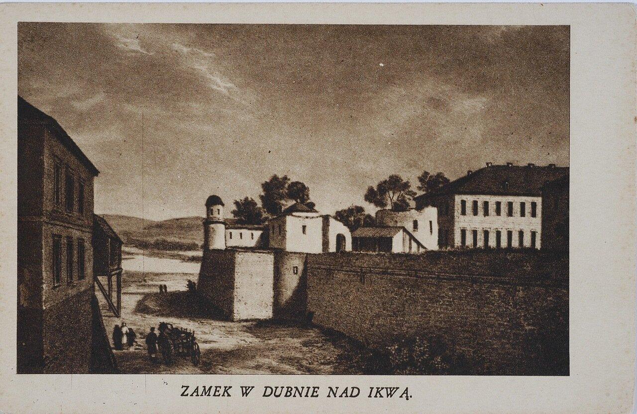 Дубенський замок над Иквой
