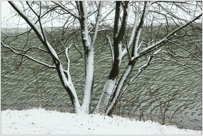 Первый снег. Царицыно