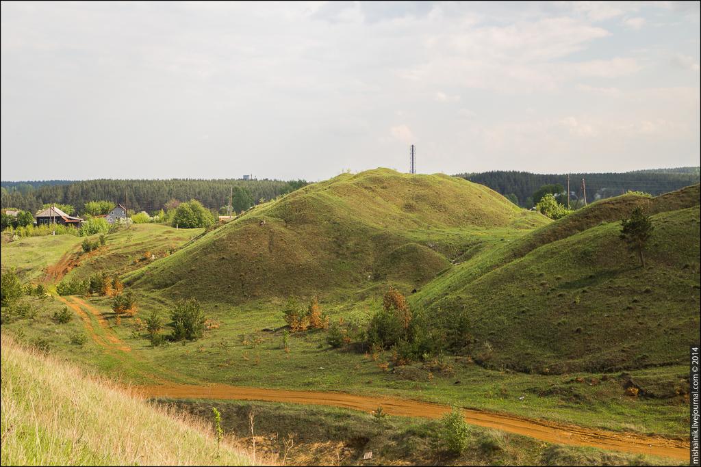 Рудник «Сухой Лог» Алапаевского железорудного месторождения