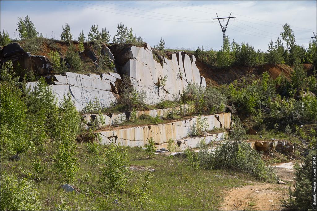 Шабровский мраморный карьер