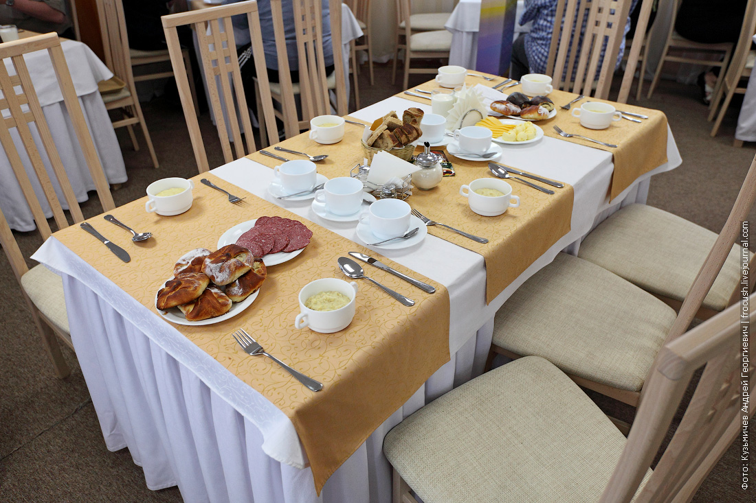 Четвертый день круиза Завтрак